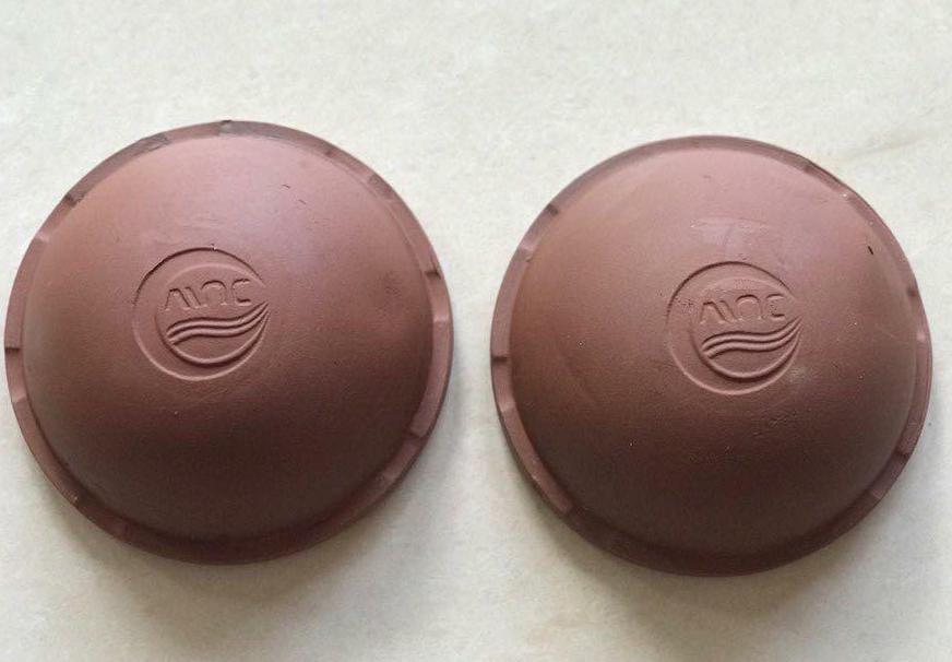 Chén gốm hứng mủ cao su dung tích 750 ml